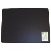 Q-Connect - Desk Pad - 40 x 53 cm  (PVC) - Black